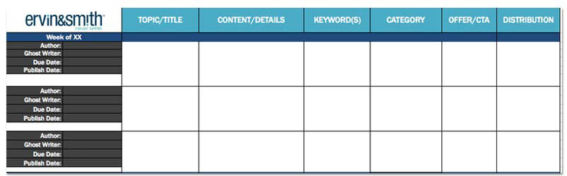Free Blog Templates For Every Marketer | Ervin & Smith