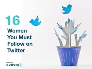 Women to Follow on Twiter