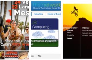 online newsroom examples