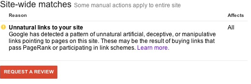 unnatural links penalty