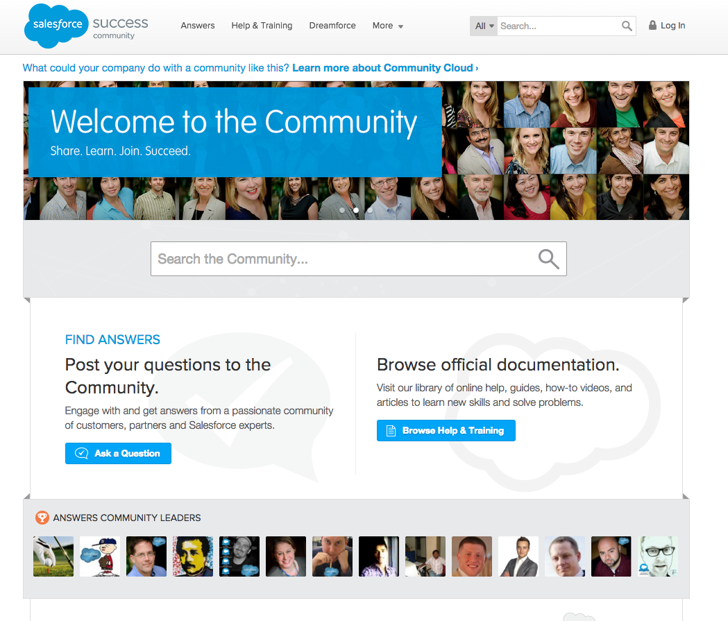 salesforce hub