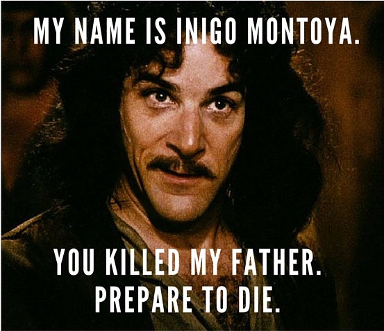 Inigo MontoyaNEW