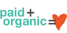 paid and organic marketing graphic