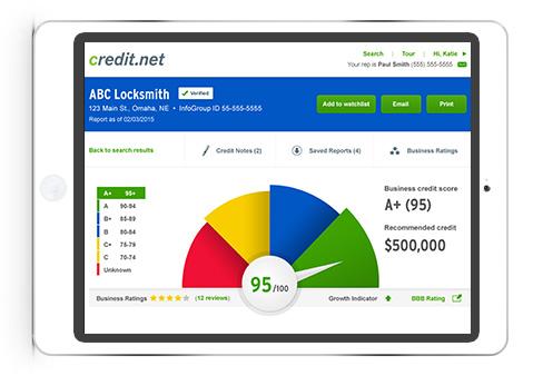 web app example credit.net