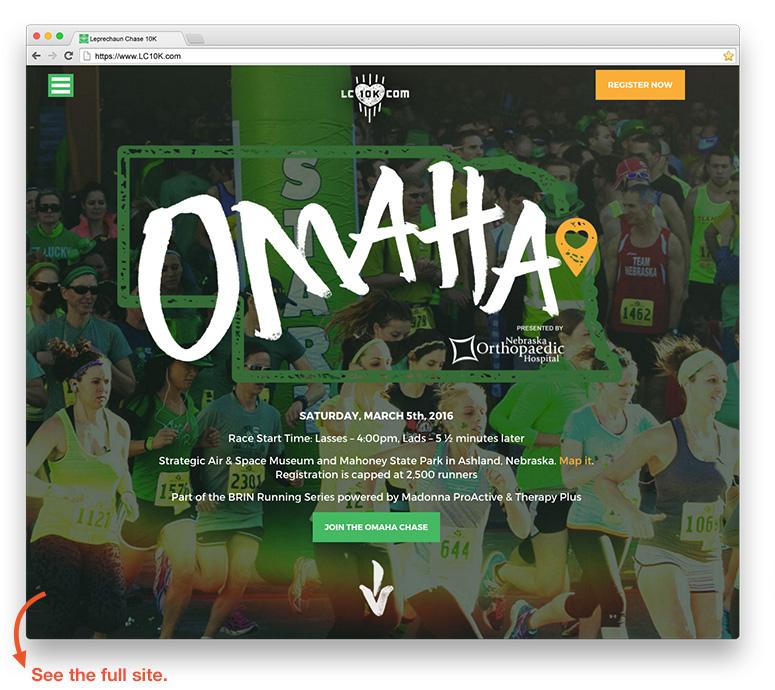 omaha web design sample pink gorilla