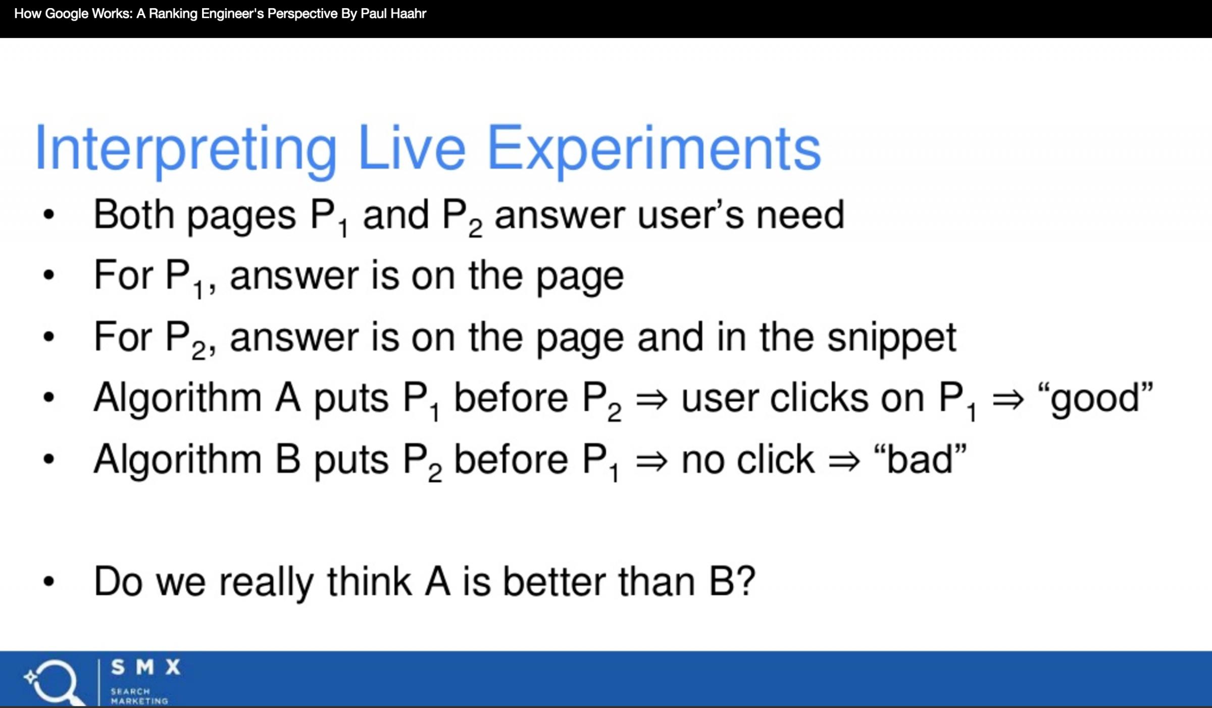User engagement influences Google's algorithmUser engagement influences Google's algorithm