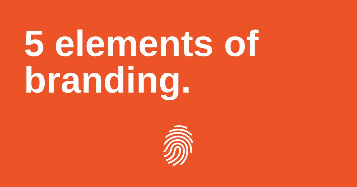 5 elements of branding