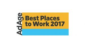 Ad Age Best Places to Work 2017 Logo